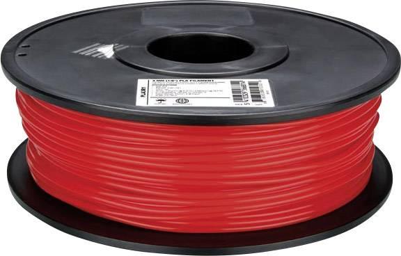 Vlákno pro 3D tiskárny Velleman ABS175R1, ABS plast, 1.75 mm, 1 kg, červená
