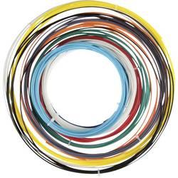 Sada vlákien pre 3D tlačiarne, Velleman PLA175SET6, PLA plast , 1.75 mm, čierna, biela, červená, strieborná, žltá, svetlomodrá