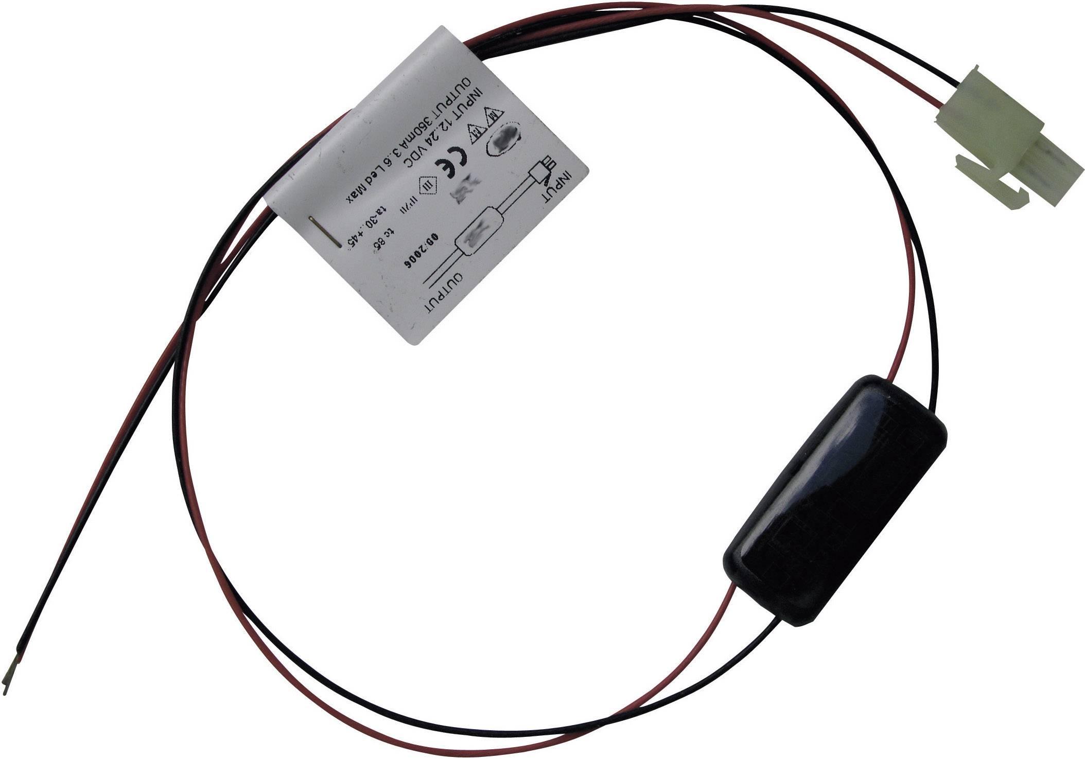LED menič Barthelme 350 mA, prevádzkové napätie (max.) 24 V/DC