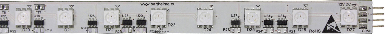 LED pásik Barthelme 50405RGB, 12 V, RGB, 41 cm
