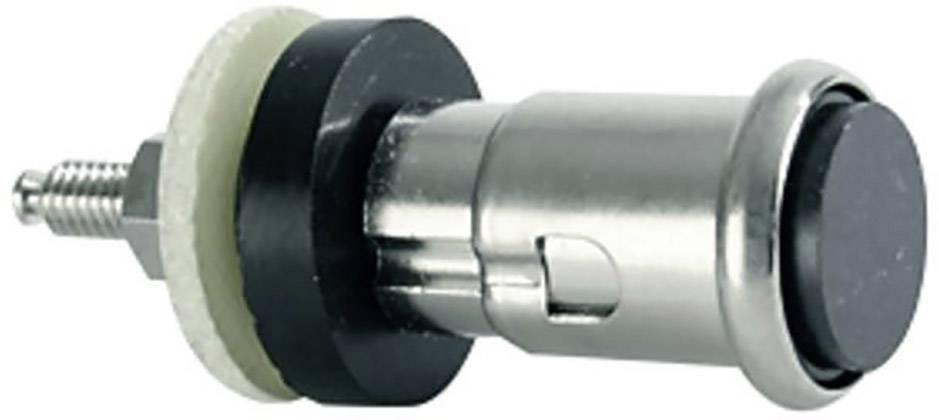 Rychloupínací svorka Telegärtner J02010A0650, 10 A, stříbrná, 1 ks
