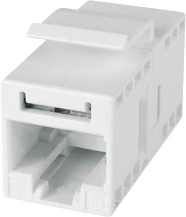 Pouzdro spojky RJ45 Telegärtner bílá, 1 ks