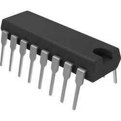 NPN Darlington tranzistor (BJT) - Arrays STMicroelectronics ULN2003A, DIP-16, Kanálov 7, 50 V