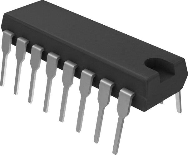 NPN Darlington tranzistor (BJT) - Arrays STMicroelectronics ULN2004A, DIP-16, Kanálov 7, 50 V