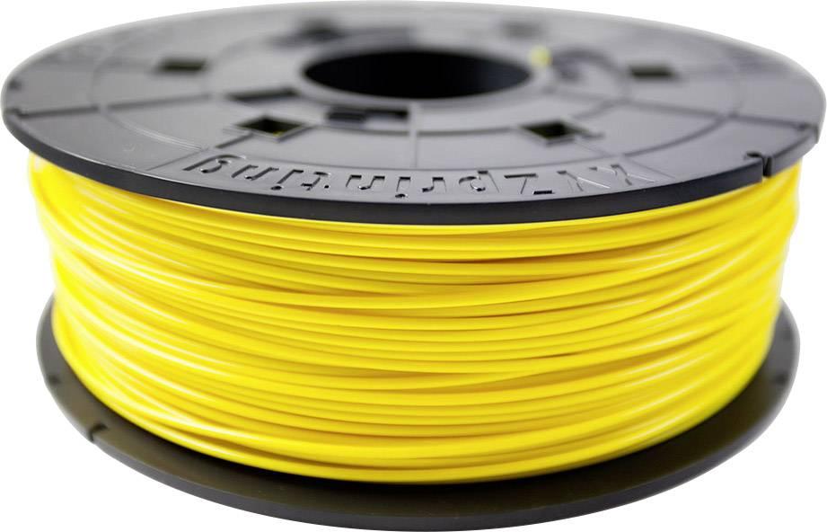 Vlákno pro 3D tiskárny XYZprinting RFPLCXEU0EC, PLA plast, 1.75 mm, 600 g, žlutá