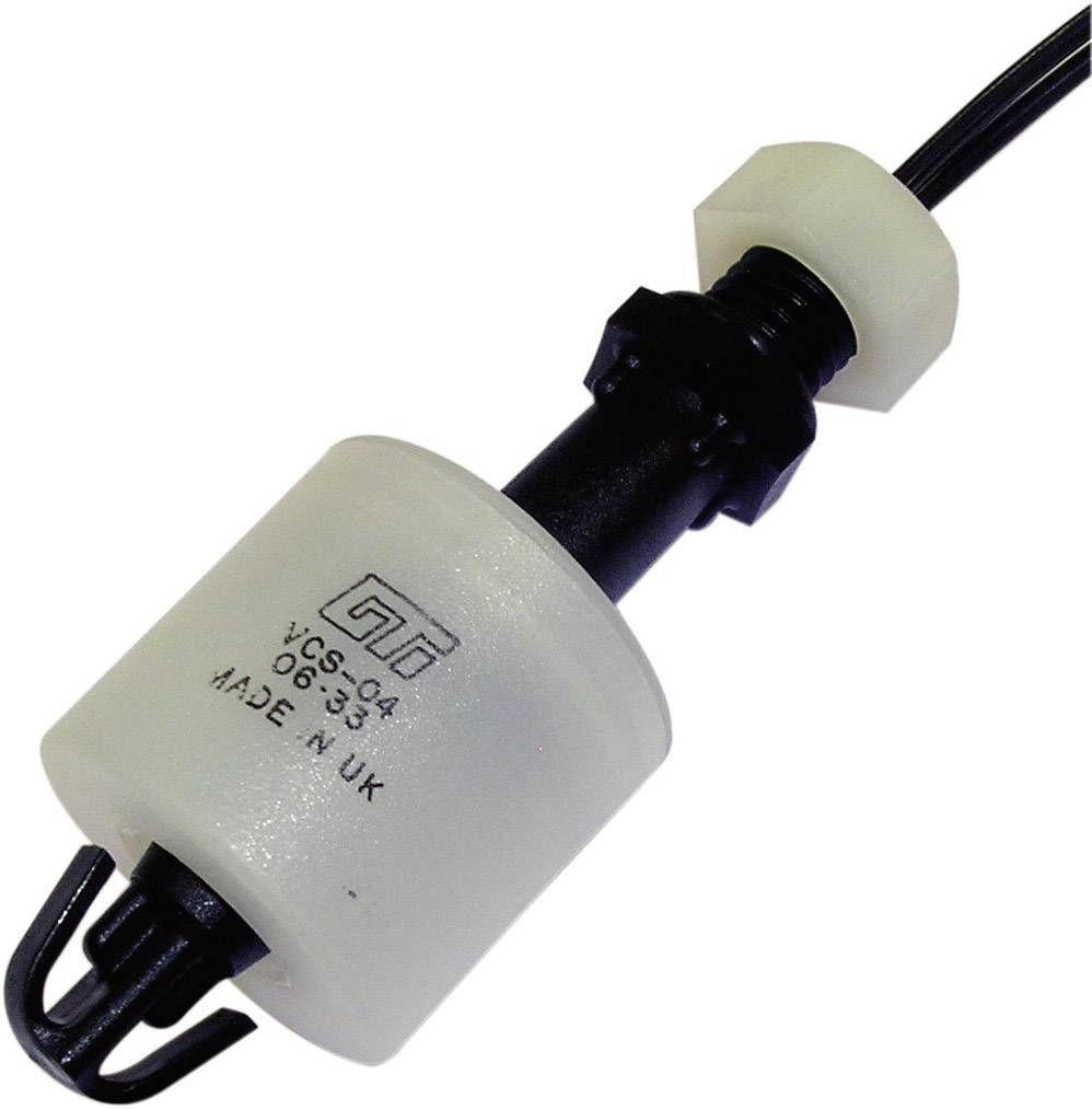 Plovákový spínač Gentech VCS-04, 250 V/AC, 1 A, 0,1 m