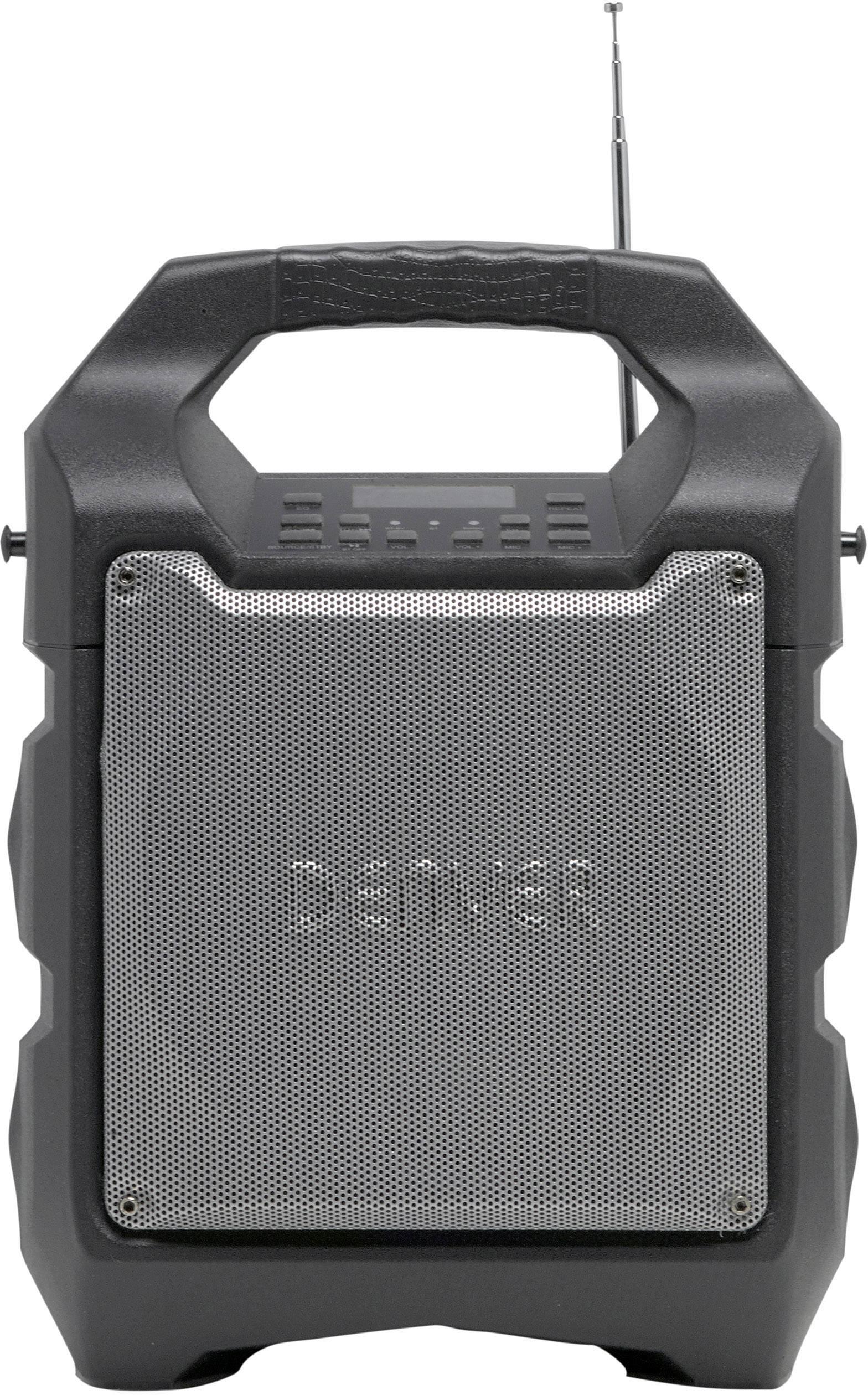 Přenosný reproduktor Denver TSP-203, napájeno akumulátorem, 230 V
