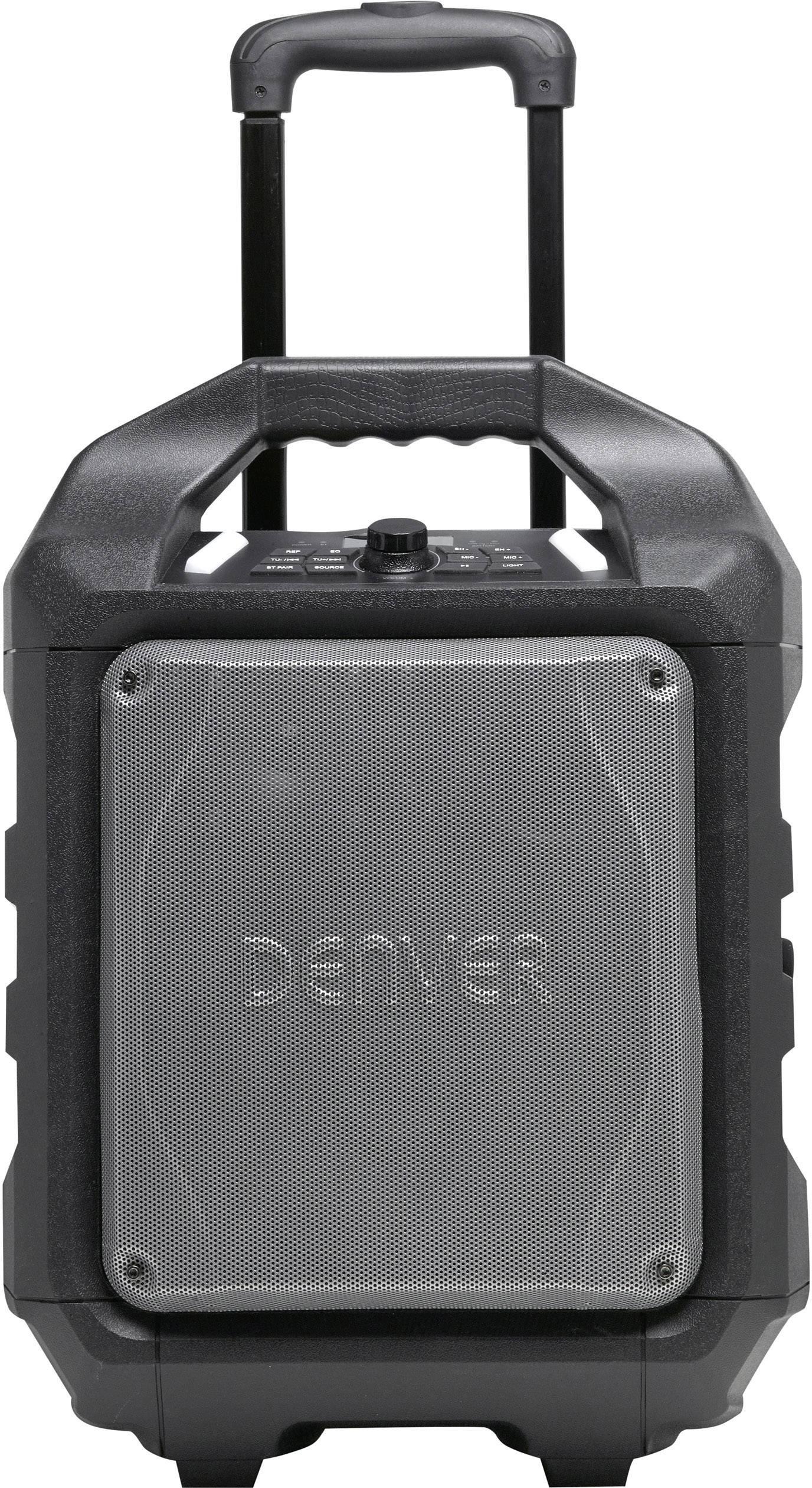 Přenosný reproduktor Denver TSP-503, napájeno akumulátorem, 230 V