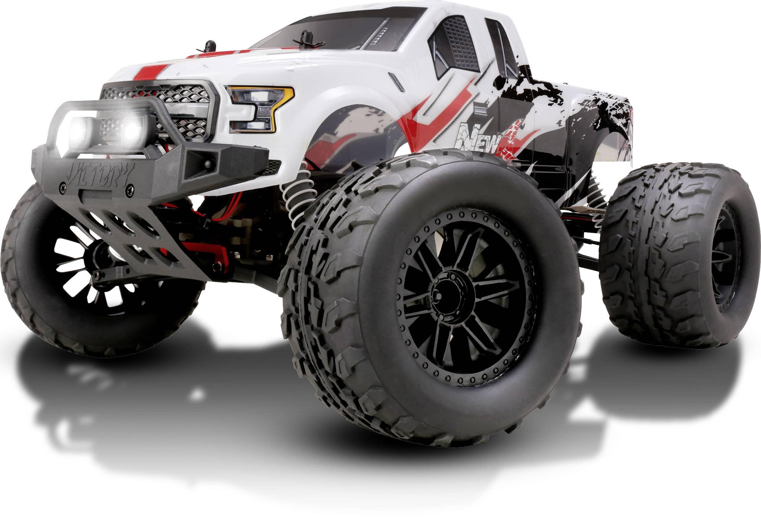 RC model auta monster truck Reely NEW1, střídavý (Brushless), 1:10, 4WD (4x4), RtR, 45 km/h