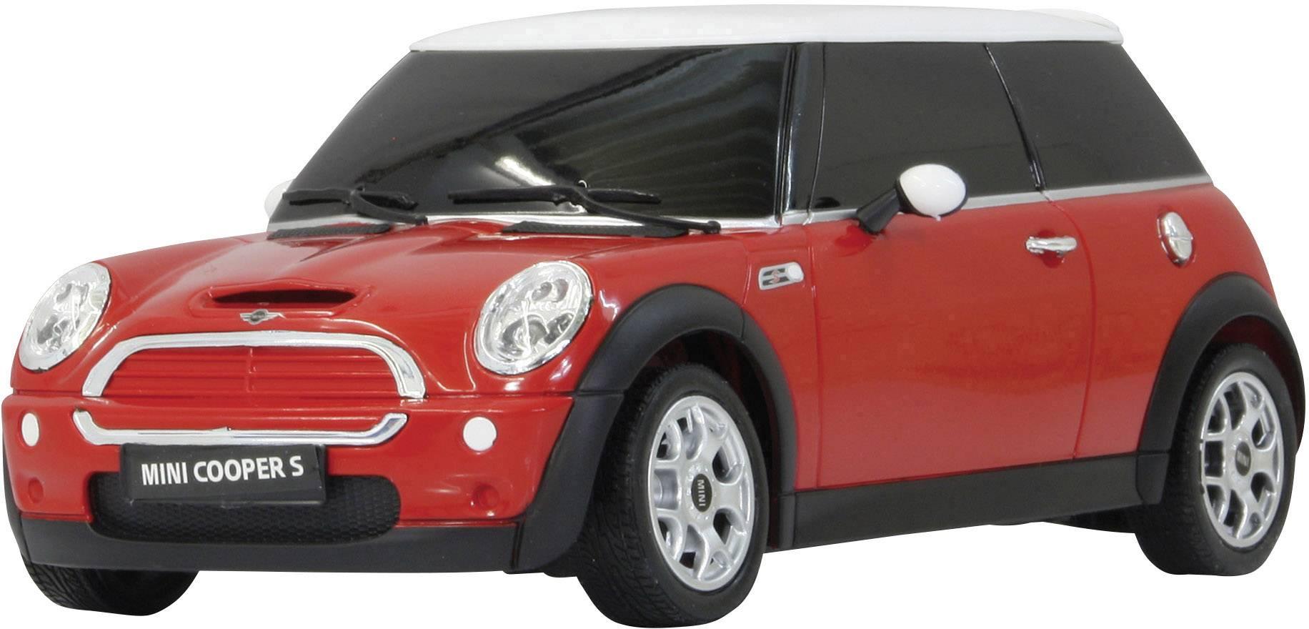 RC model auta Jamara 404035 – Mini Cooper S, červená, silniční vůz