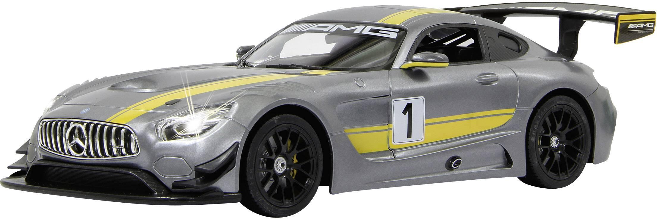 RC model auta Jamara 405072 – Mercedes AMG GT3 Performance, šedá, silniční vůz