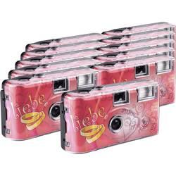Love Hearts jednorázový fotoaparát 11 ks s vestavěným bleskem