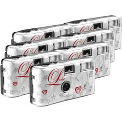Love White jednorázový fotoaparát 7 ks s vestavěným bleskem