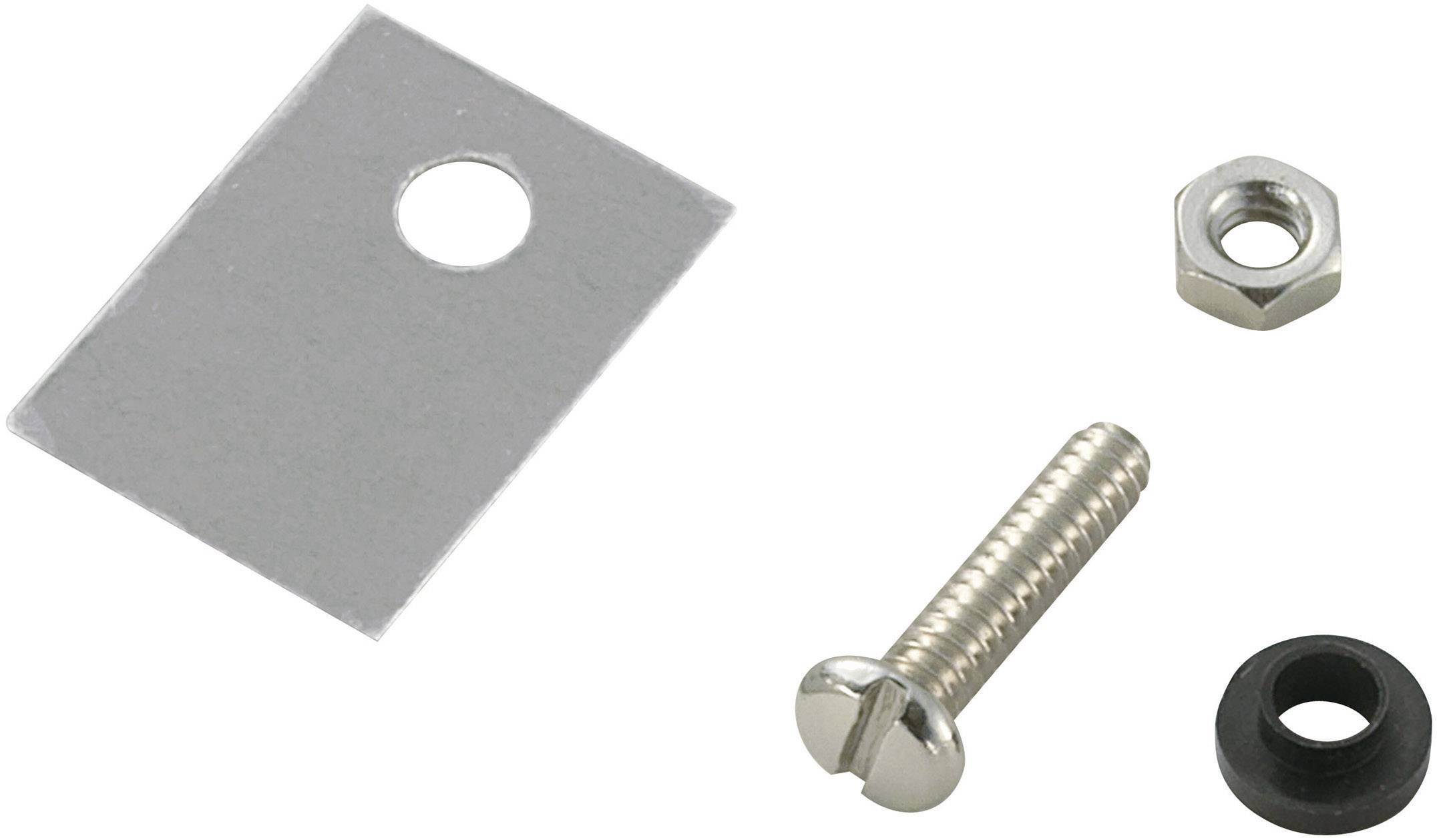 Sada montážneho materiálu pre polovodiče SCI A18-9B, (d x š) 18 mm x 13 mm, vhodné pro TO-220, 1 sada