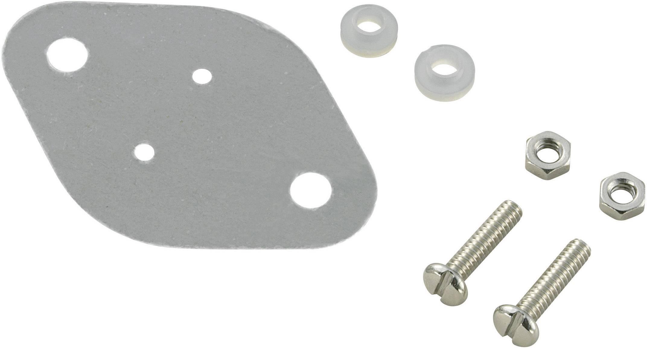 Sada montážneho materiálu pre polovodiče SCI A18-9C, (d x š) 42 mm x 30 mm, vhodné pro TO-3, 1 sada