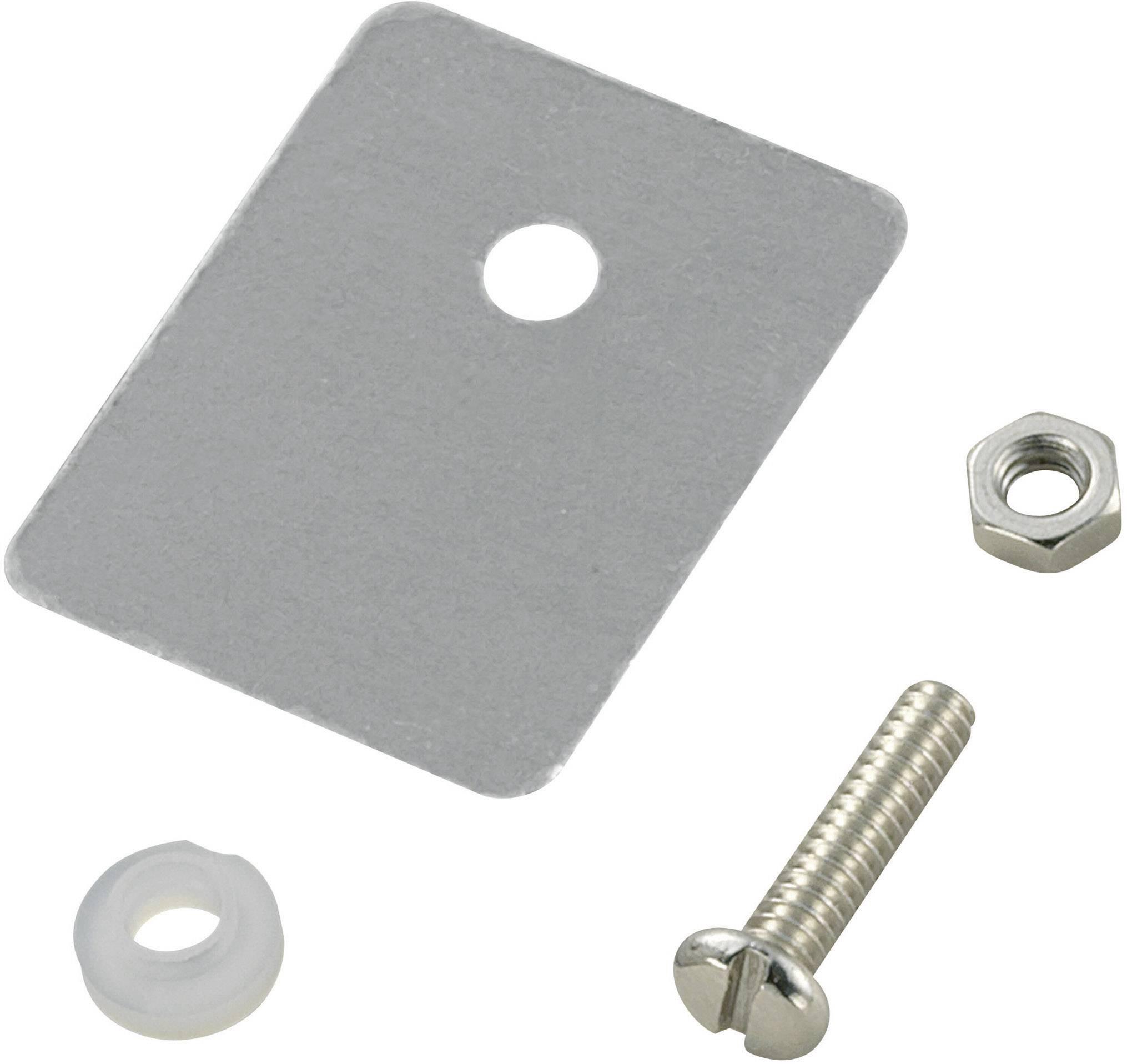 Sada montážneho materiálu pre polovodiče SCI A18-9D, (d x š) 25 mm x 22 mm, vhodné pro TO-218, 1 sada