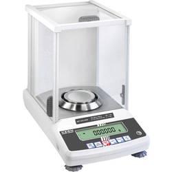 Analyzační váha Kern ABT 220-5DNM+C ABT 220-5DNM+C, rozlišení 0.00001 g, 0.0001 g, max. váživost 220 g, Kalibrováno dle (DAkkS)