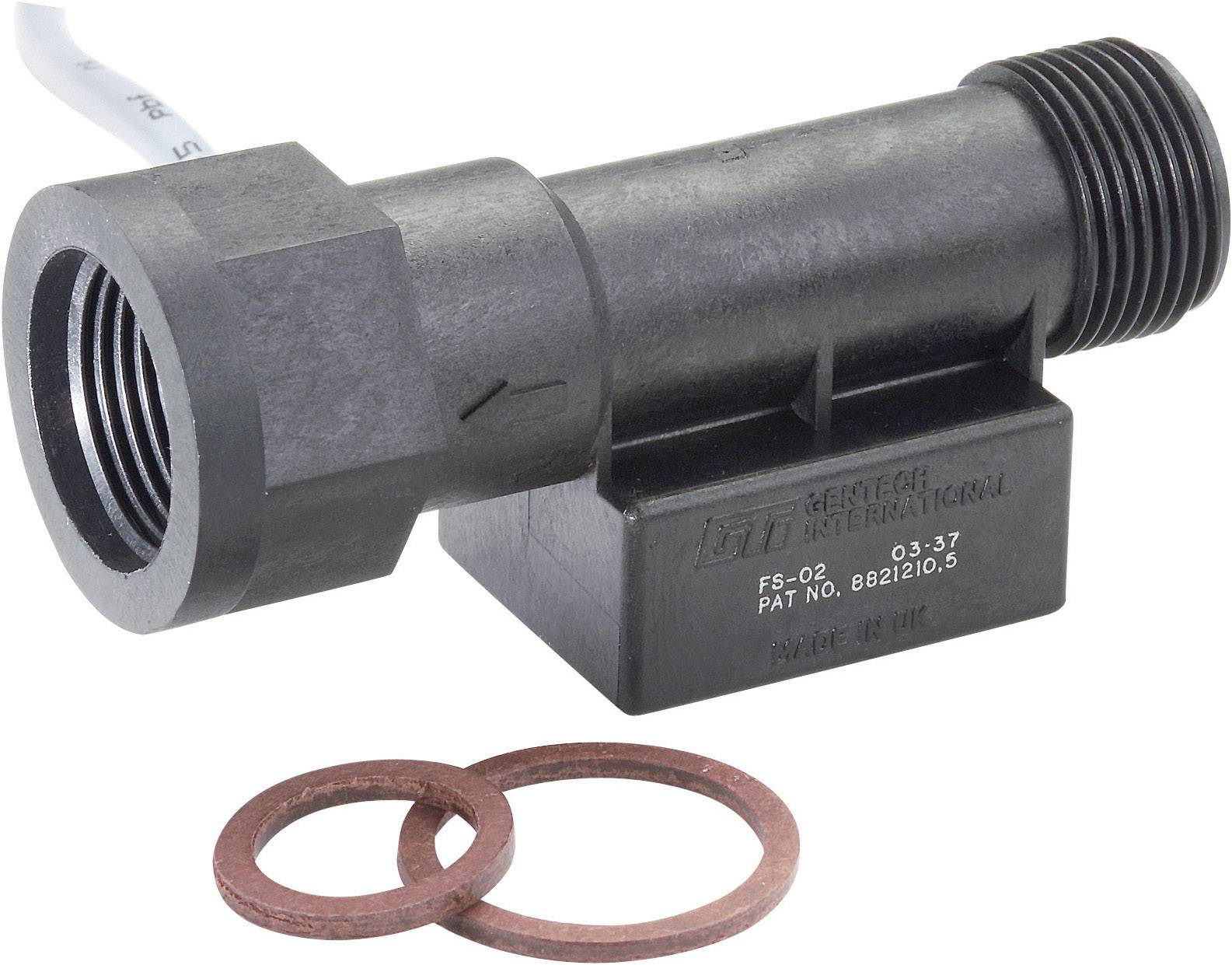 Senzor průtoku TE Connectivity Sensor FS-01, (d x š x v) 101.5 x 37 x 40 mm