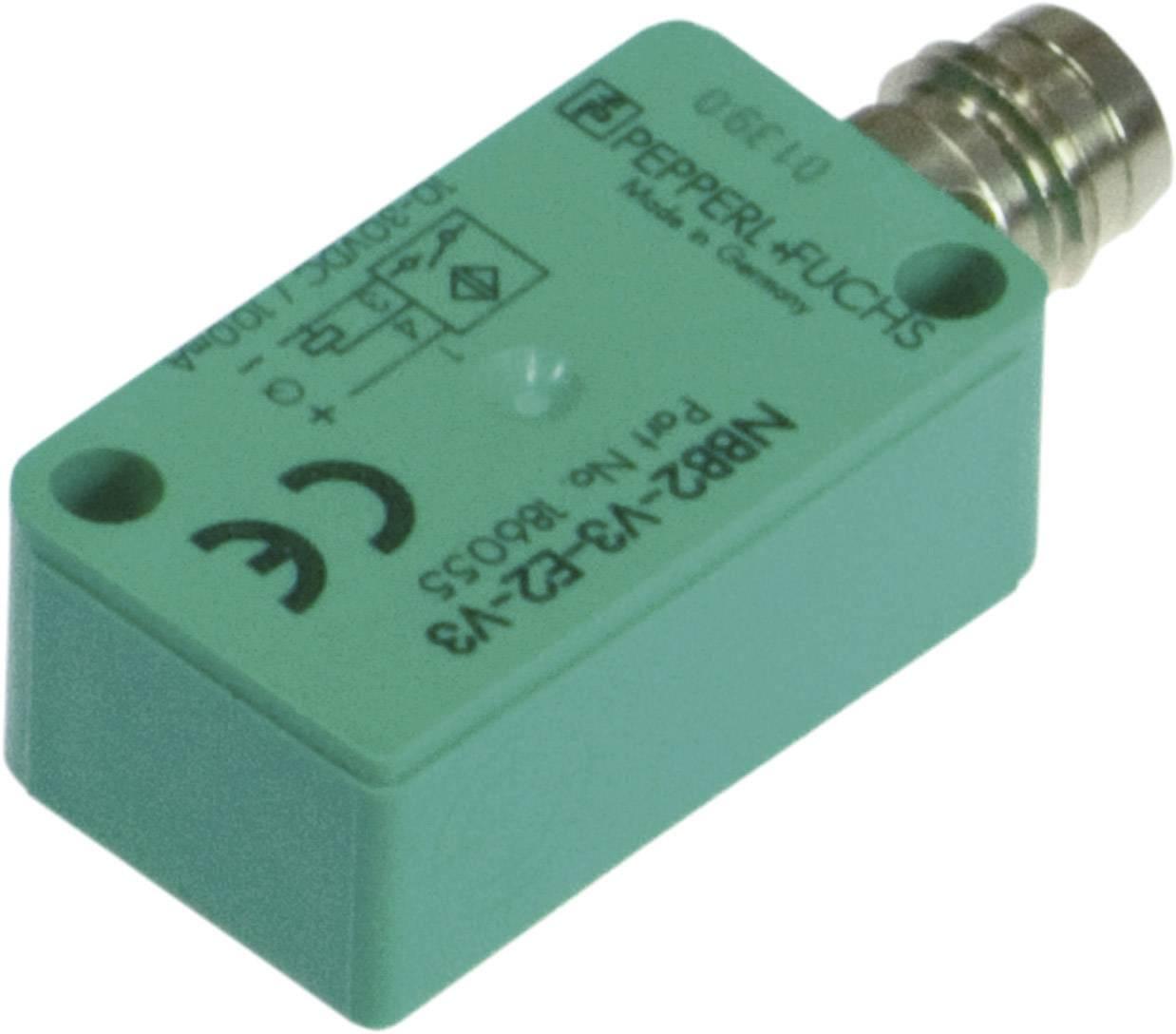 Indukčný senzor priblíženia Pepperl & Fuchs NBB2-V3-E2-V3, 10 x 16 mm, spínacia vzdialenosť (max.) 2 mm