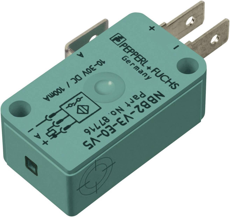 Indukčný senzor priblíženia Pepperl & Fuchs NBB2-V3-E2-V5, 10 x 16 mm, spínacia vzdialenosť (max.) 2 mm