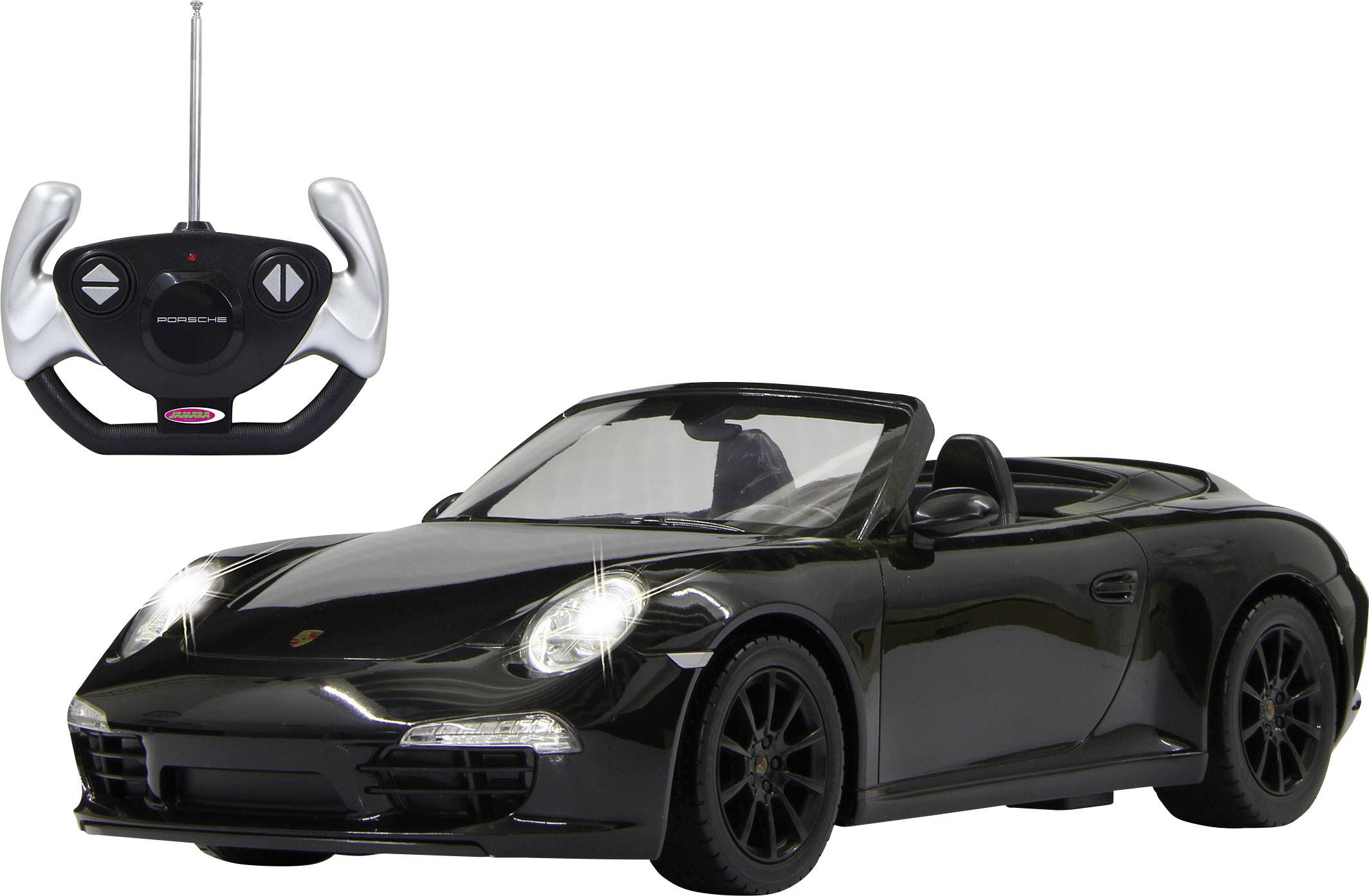 RC model auta cestný model Jamara Porsche 911 Carrera 403085, 1:12