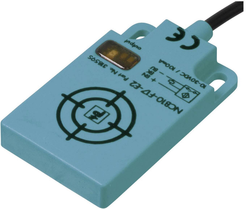 Indukčný senzor priblíženia Pepperl & Fuchs NCB10-F17-E2, 30 x 7 mm, spínacia vzdialenosť (max.) 10 mm