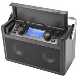 Vodotěsné DAB+, FM audisse Shirudo, černá