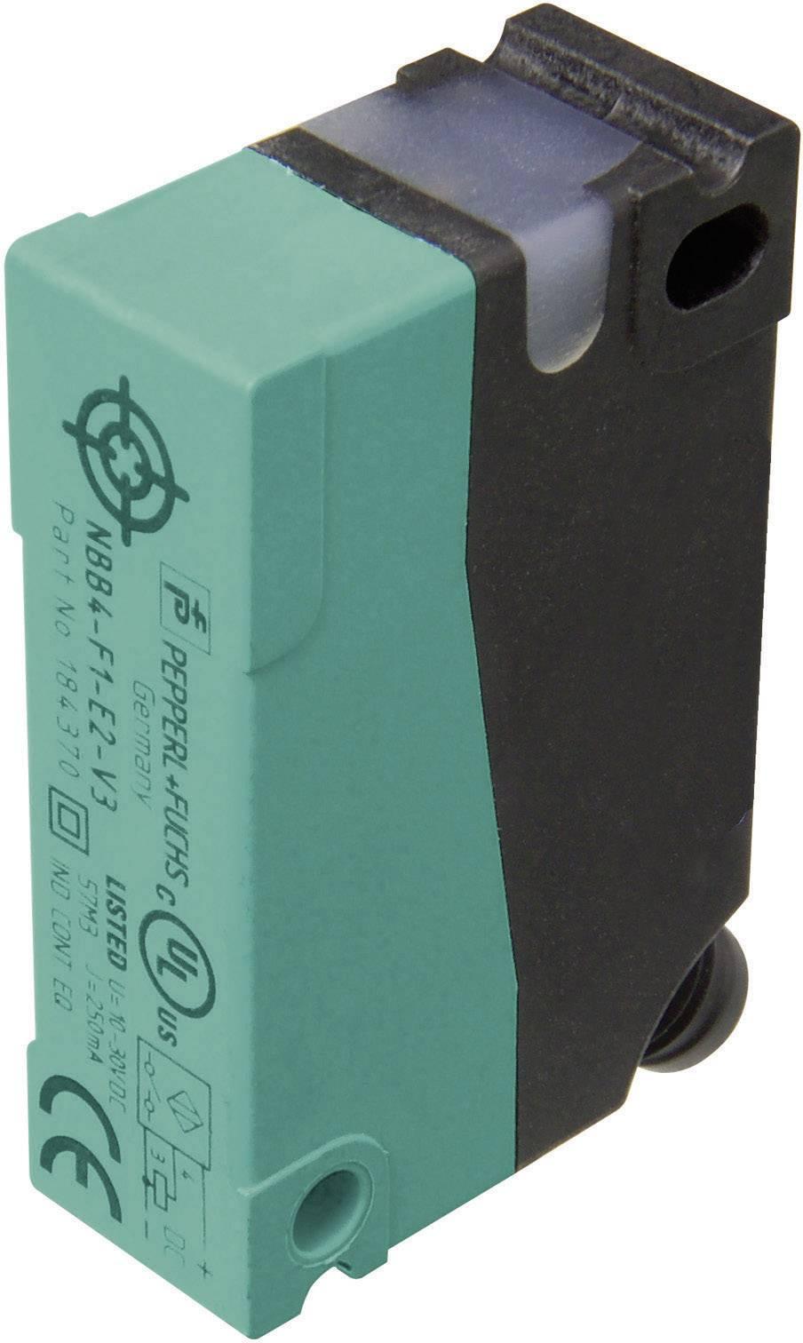 Indukčný senzor priblíženia Pepperl & Fuchs NBN8-F1-E2-V3, 12 x 40 mm, spínacia vzdialenosť (max.) 8 mm