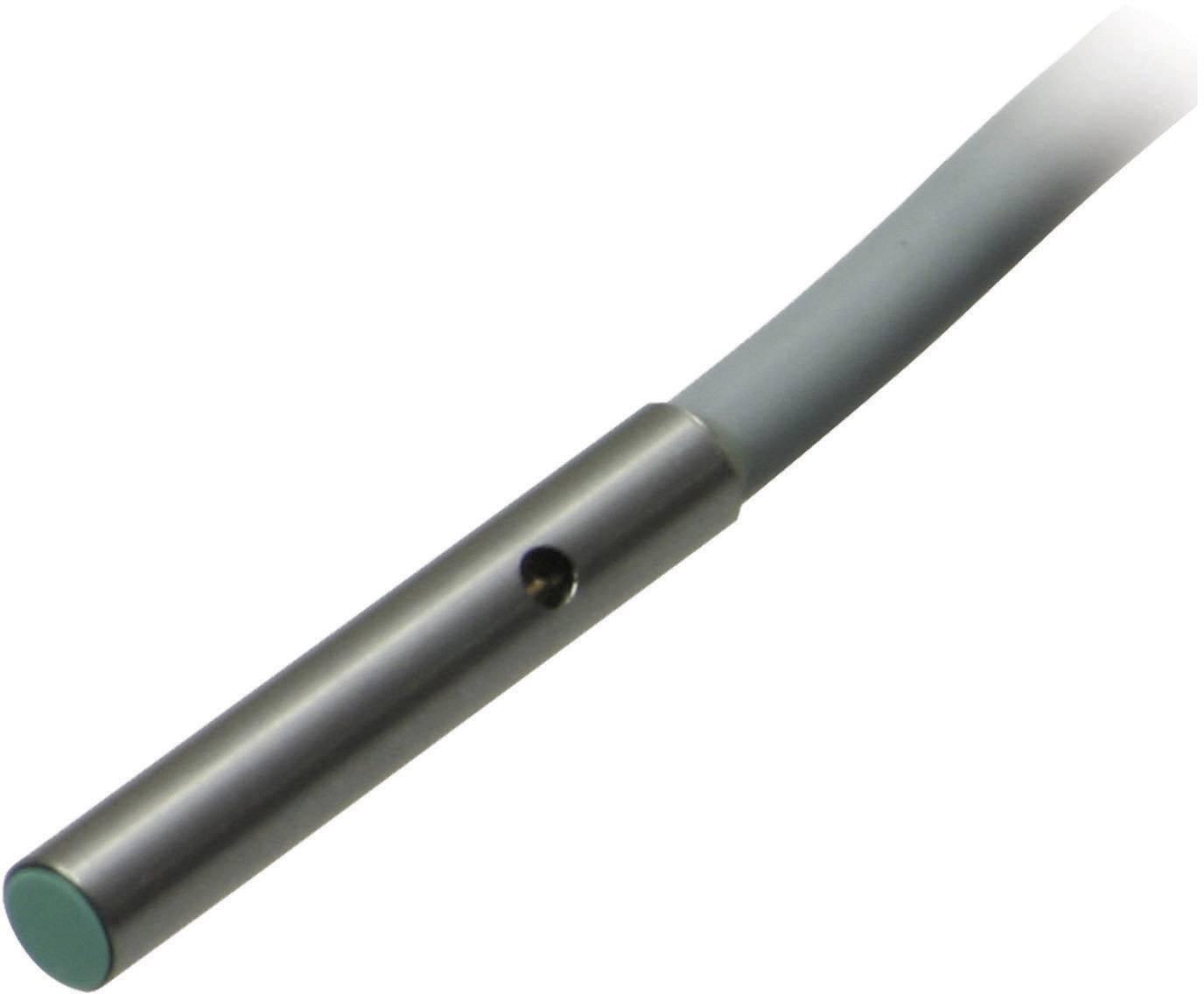 Indukční senzor přiblížení Pepperl & Fuchs NBB0,8-4M25-E2, 0,8 mm, IP67