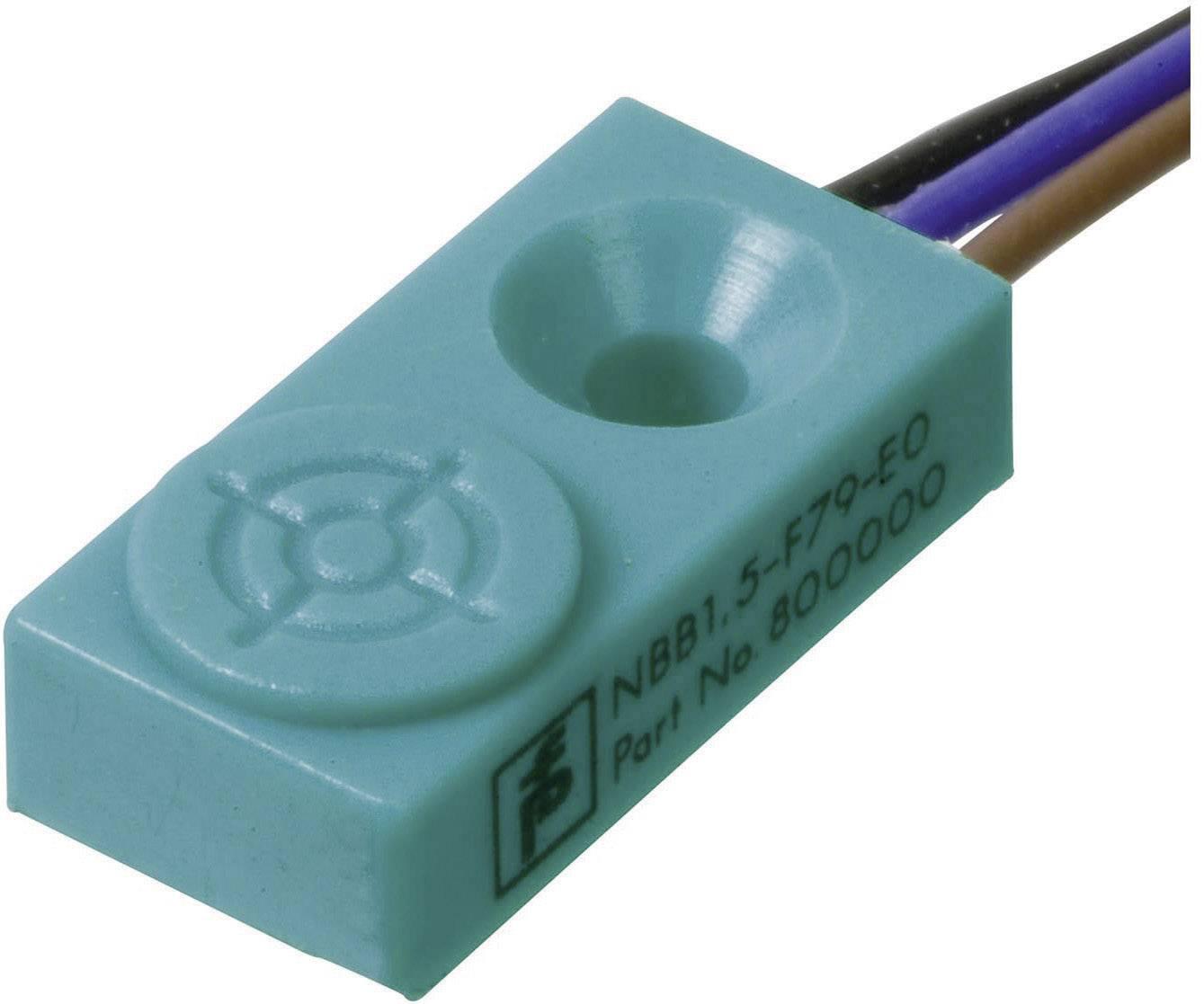 Indukční senzor přiblížení Pepperl & Fuchs NBB1,5-F79-E2, 1,5 mm, IP67