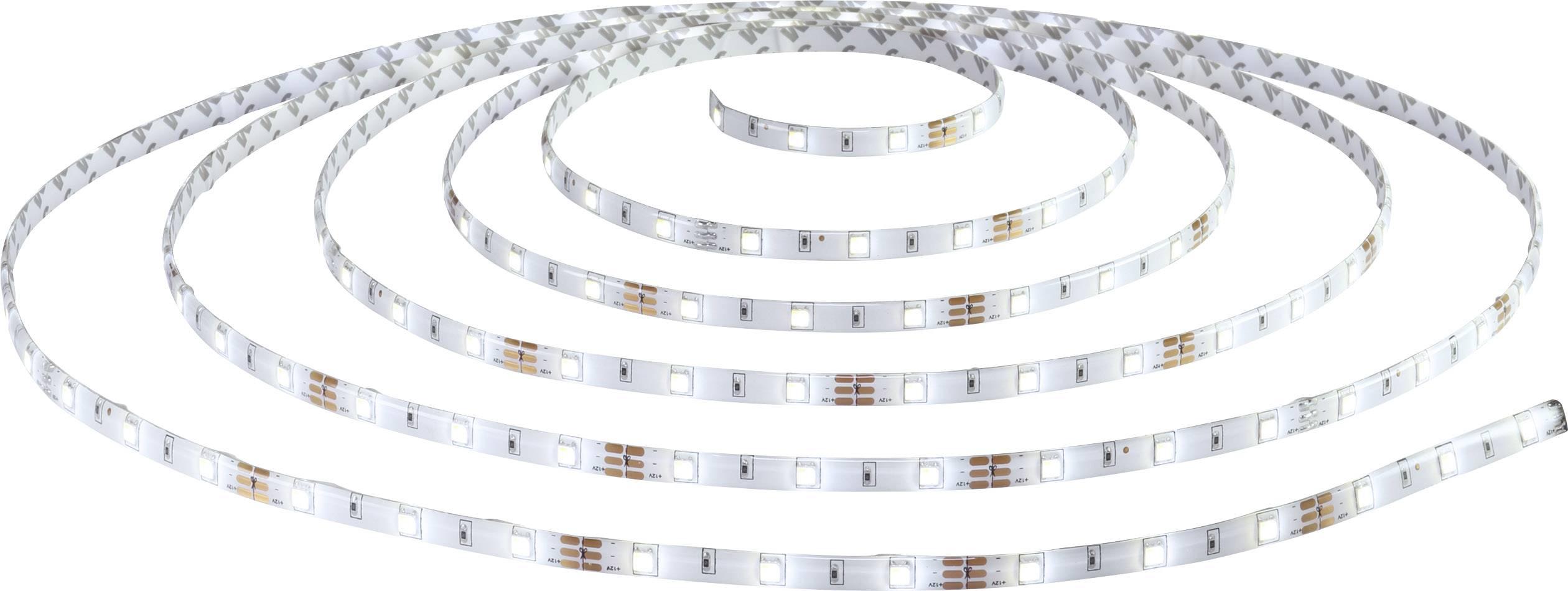 Kompletná sada LED pásikov Polarlite 12 V/DC, 24 W, chladná biela, teplá biela, 500 cm