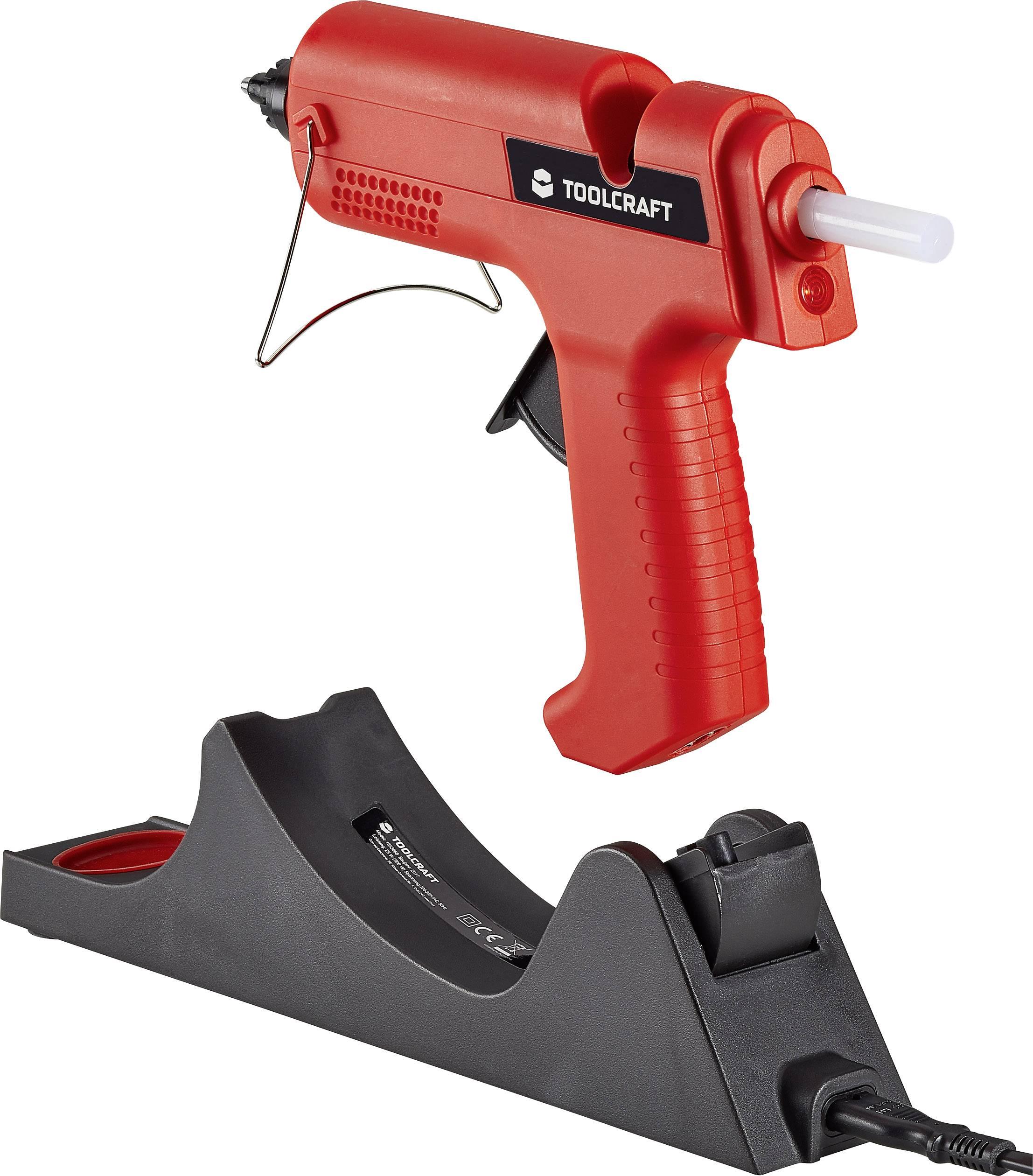 Tavná lepiaca pištoľ TOOLCRAFT TC-HKP-11 WL 1553068, 500 W, vr. príslušenstva