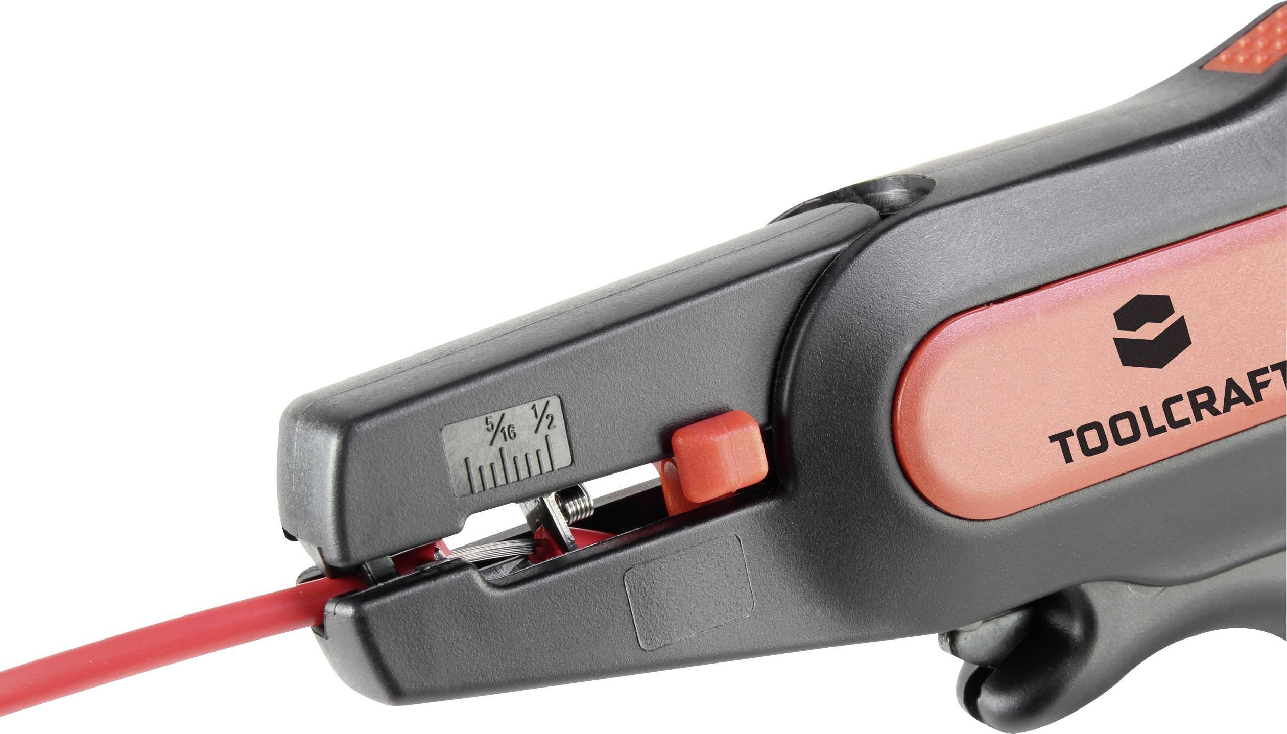 Automatické odizolovací kleště TOOLCRAFT 1553069, průřez AWG 24 až 10 mm