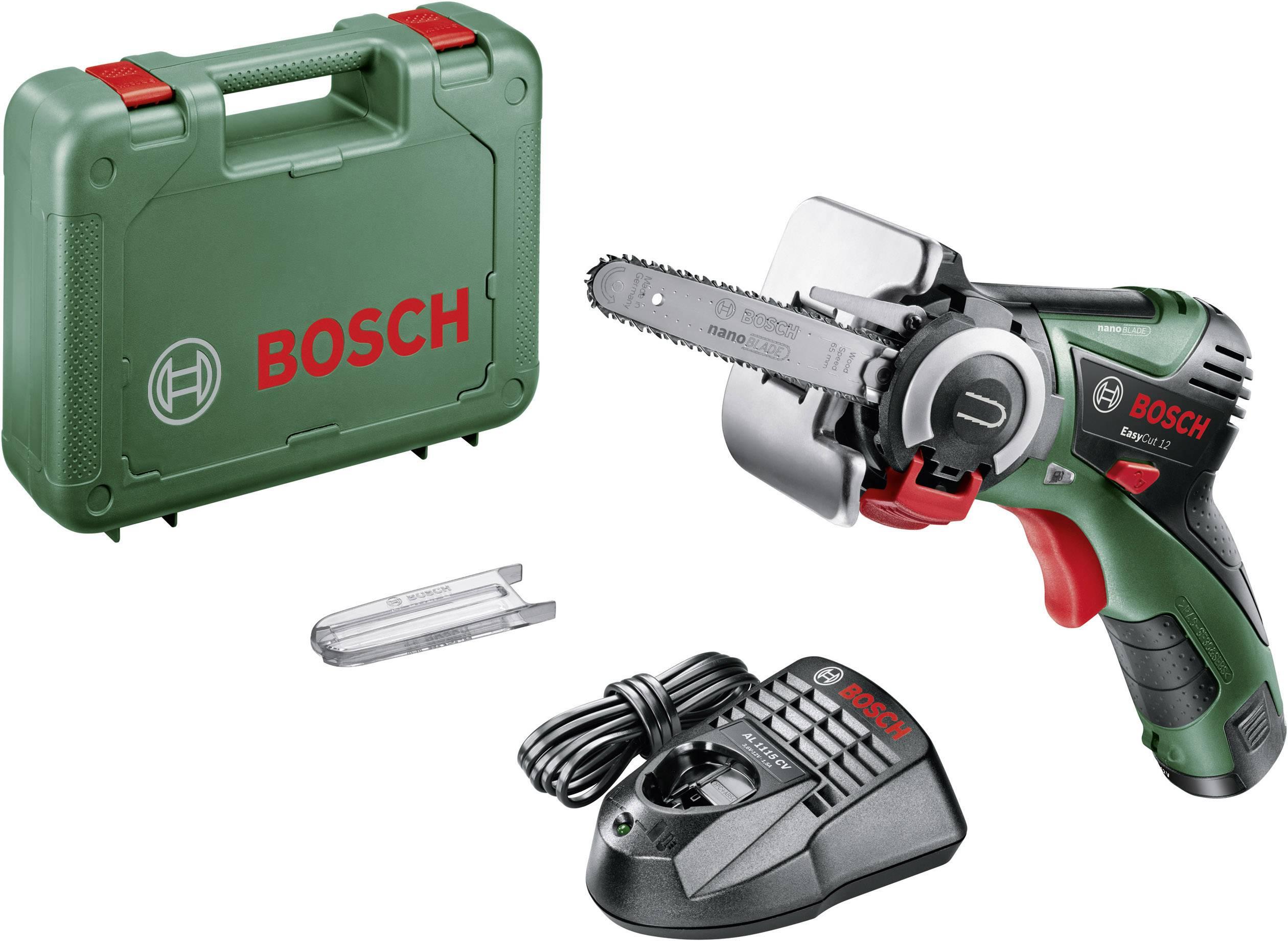 Akumulátorová motorová píla Bosch Home and Garden EasyCut 12, + akumulátor, + púzdro