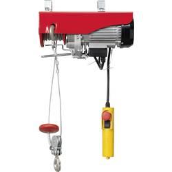 Elektrický lanový kladkostroj TOOLCRAFT 1553742, 300 kg/600 kg, zdvih 18000 mm/9000 mm
