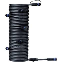 Osvětlovací systém Plug&Shine 7násobný rozdělovač 1500 cm Paulmann 93931 černá 24 V