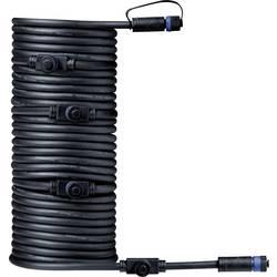Osvětlovací systém Plug&Shine 5násobný rozdělovač 1000 cm Paulmann 93930 černá 24 V