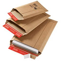 Colompac Rigid Plus CP010.08 zasílací taška (š x v x h) 340 x 500 x 50 mm hnědá Použití pro formát papíru=DIN A3 1 ks