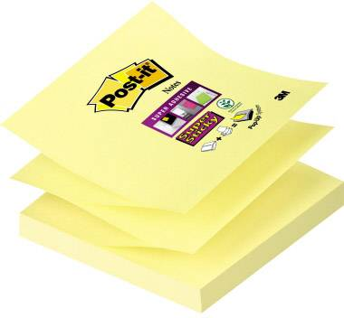Samolepicí poznámkové bločky Post-it 7000048167, (š x v) 76 mm x 76 mm, žlutá, 90 listů