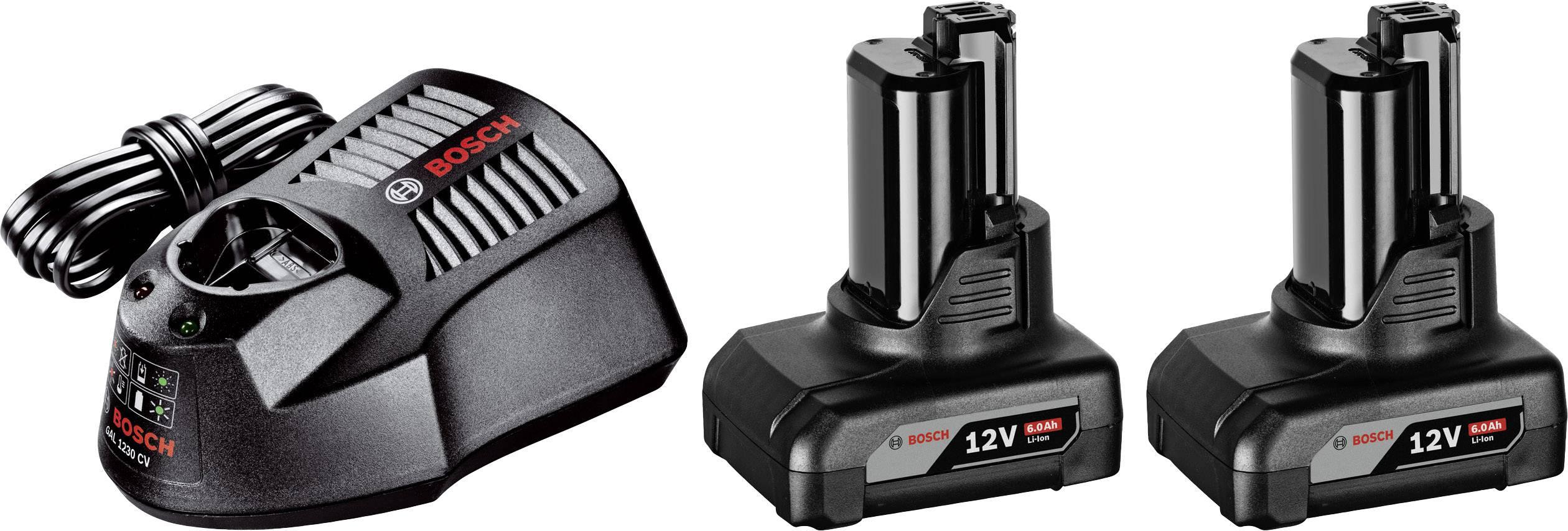 Náhradní akumulátor pro elektrické nářadí, Bosch Professional GBA 1600A00X7N, 12 V, 6 Ah, Li-Ion akumulátor