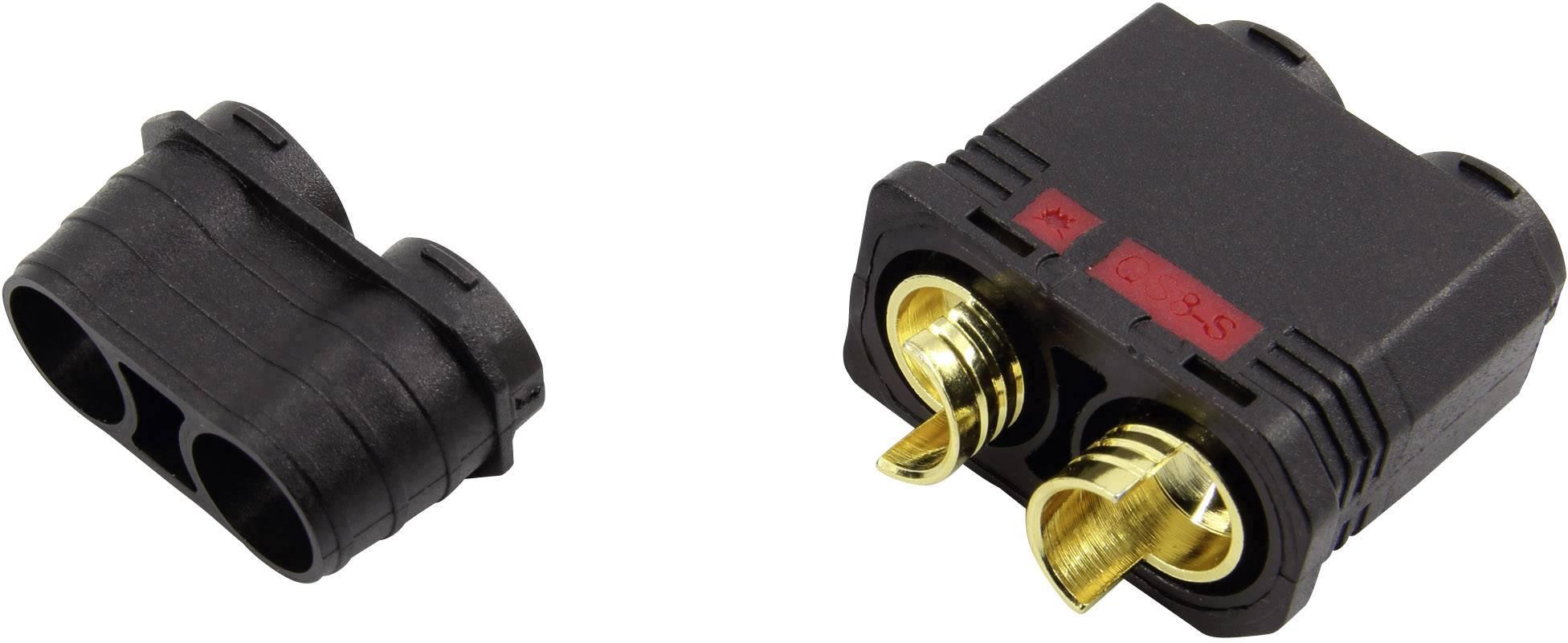Zásuvkový konektor k propojení akumulátoru a regulátoru RC modelu Reely pozlacené, 1 ks