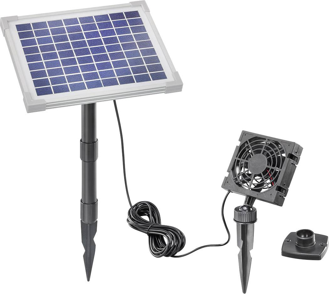 Solárny vetrací systém Esotec Fresh-Air 101862, 5 Wp, vr. kábla