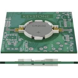 Držák knoflíkových baterií 1 CR 2032 horizontální , povrchová montáž SMD (d x š x v) 33.15 x 23.93 x 5.21 mm Keystone 1057