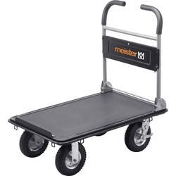 Plošinový vozík skládací ocel Zatížení (max.): 300 kg Meister Werkzeuge 8985700