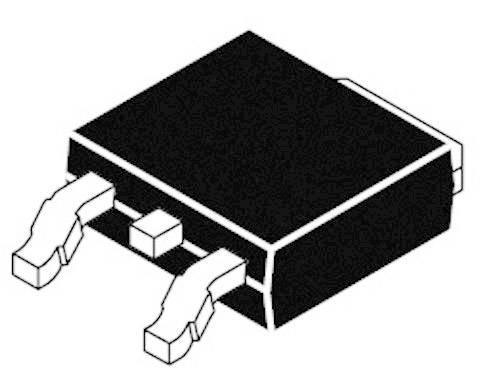 Nastavitelný stabilizátor napětí ON Semiconductor LM317MDT, 500 mA, 1,2 - 37 V, TO 252