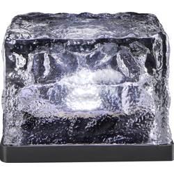 LED solární dekorativní osvětlení - kostka ledu Polarlite 0.08 W, IP44, studená bílá