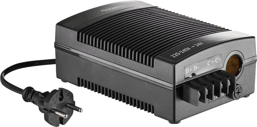 Měnič napětí Dometic Group CoolPower EPS-100, (d x š x v) 185 x 115 x 65 mm, 1 ks, černá