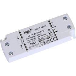 Napájecí zdroj pro LED konstantní napětí Dehner Elektronik SNP15-12VF-1, 15 W (max), 0 - 1.25 A, 12 V/DC