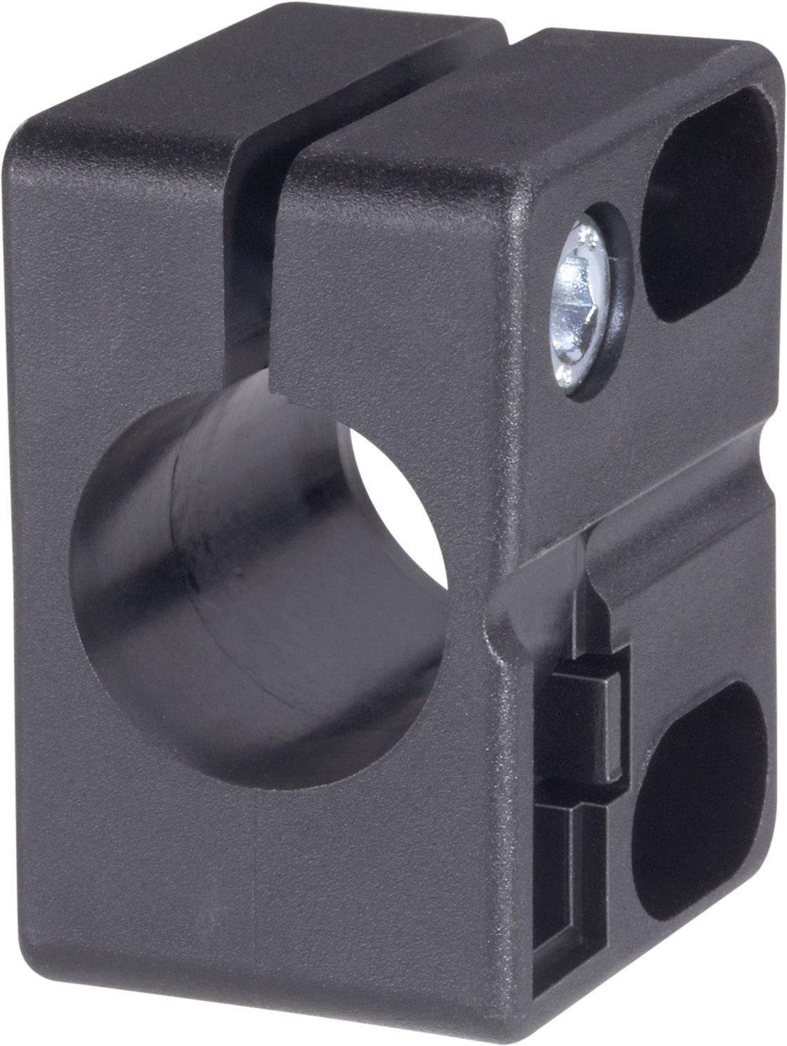 Držák senzoru Contrinex ASU-0001-120 (606 000 007), ASU-0001-120, PA 6 černá