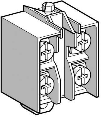Pomocný spínač Schneider Electric XE2NP2151, 1 spínací kontakt, 1 rozpínací kontakt, 1 ks
